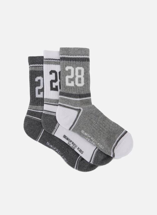 Socken & Strumpfhosen Monoprix Kids LOT DE 3 CHAUSSETTES SPORT GARCON grau schuhe getragen