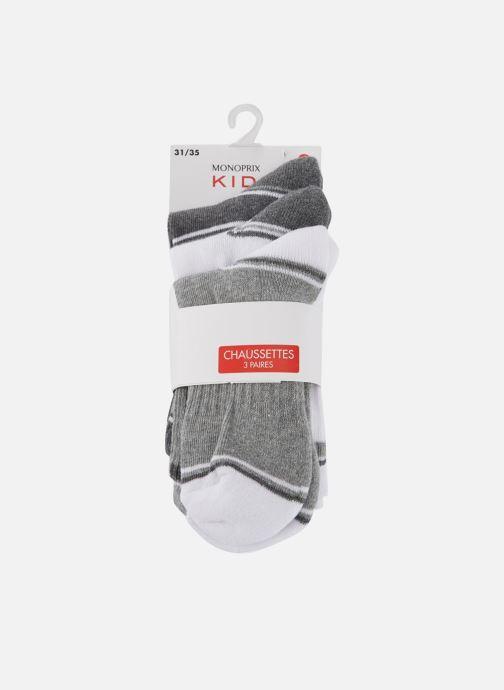 Sokken en panty's Monoprix Kids LOT DE 3 CHAUSSETTES SPORT GARCON Grijs detail