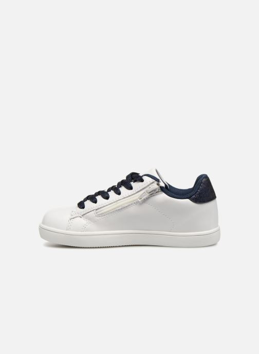 Sneakers Monoprix Kids TENNIS BRILLANTE Wit voorkant