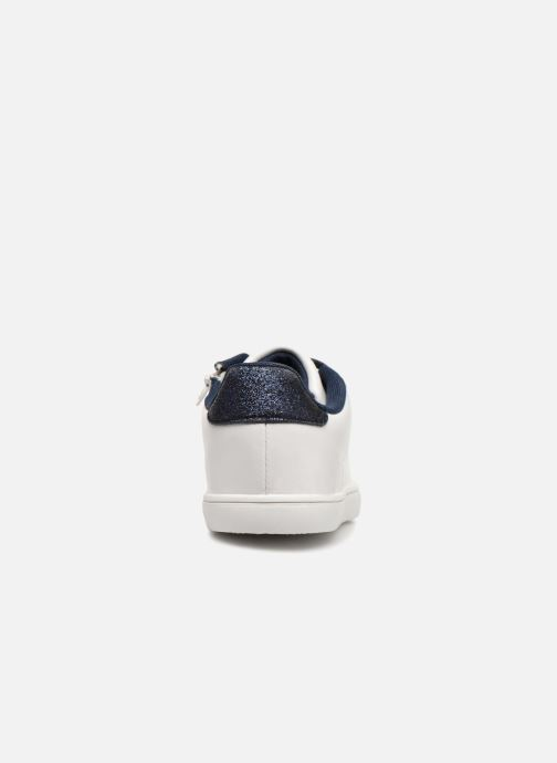 Baskets Monoprix Kids TENNIS BRILLANTE Blanc vue droite
