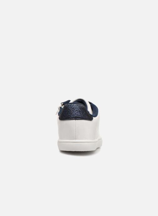 Sneaker Monoprix Kids TENNIS BRILLANTE weiß ansicht von rechts