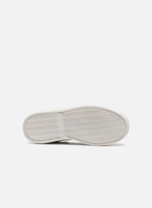 Sneaker Monoprix Kids TENNIS BRILLANTE weiß ansicht von oben