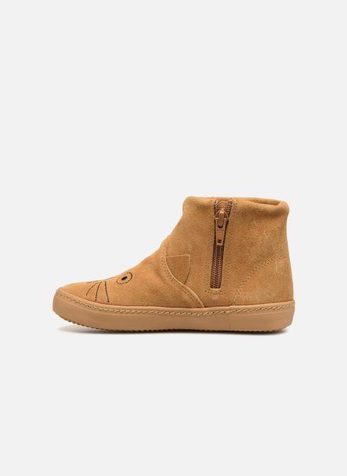 Bottines et boots Monoprix Kids BOTTINE CHAT Marron vue face