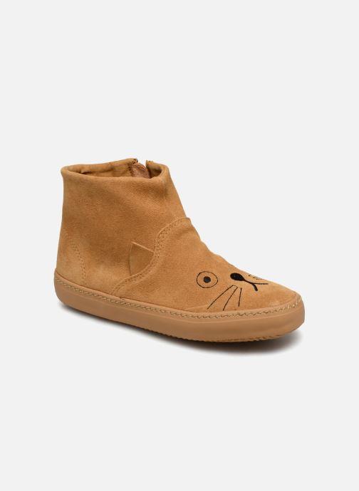 Bottines et boots Monoprix Kids BOTTINE CHAT Marron vue détail/paire