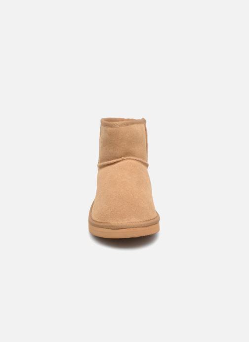 Bottes Monoprix Kids BOTTE FOURREE Beige vue portées chaussures