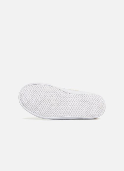 Trainers Monoprix Kids BASKET FOURREE Beige view from above