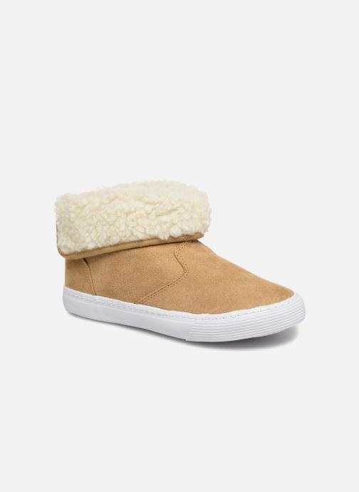 Sneakers Monoprix Kids BASKET FOURREE Beige detail