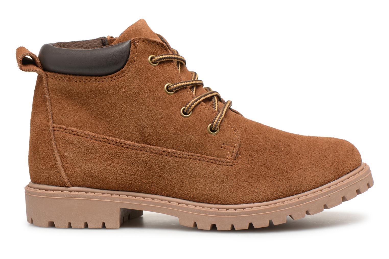 Bottines et boots Monoprix Kids CHAUSSURE MONTANTE GARCON Marron vue derrière
