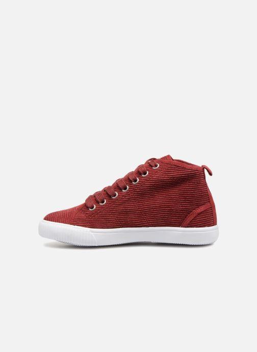 Sneakers Monoprix Kids CHAUSS MONTANTE VELOURS Brun se forfra