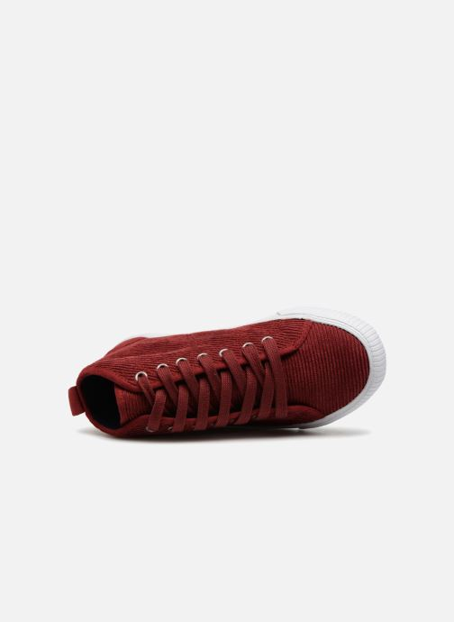 Sneakers Monoprix Kids CHAUSS MONTANTE VELOURS Brun se fra venstre