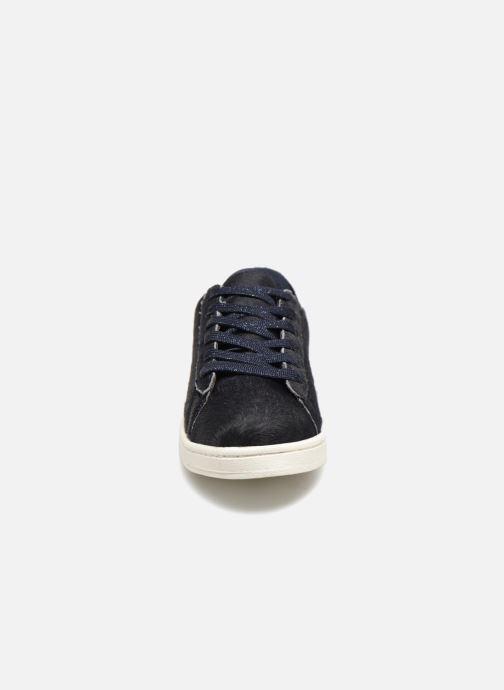 Baskets Monoprix Kids BASKET POILS BLEU Bleu vue portées chaussures