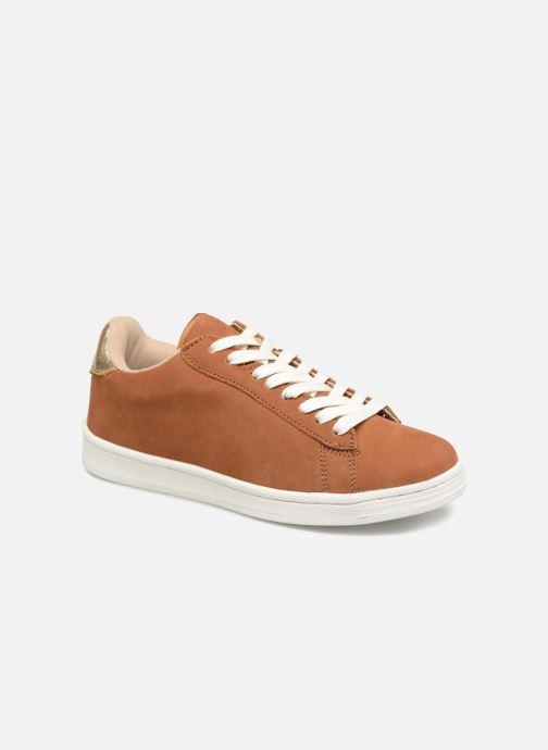 Cuir Baskets Premium Unies En braun Sneaker Monoprix 352683 HZtzxnTH
