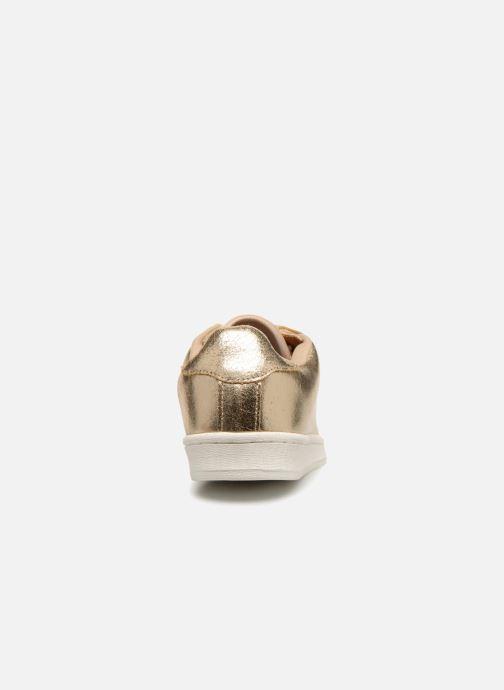 Unies Dore Cuir Baskets En Premium Monoprix vwON08mn