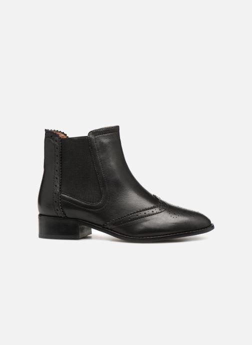 Fleuri Cuir Monoprix Noir Bout Boots Premium eEIbD2WYH9