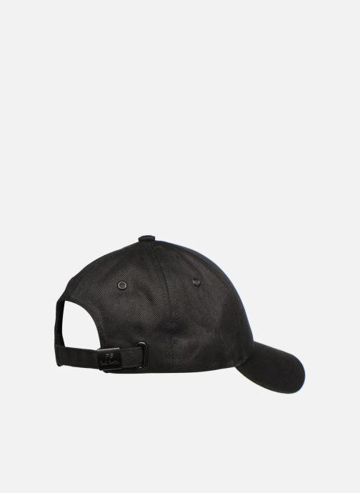 Kappe PS Paul Smith Zebra Baseball Cap schwarz ansicht von vorne