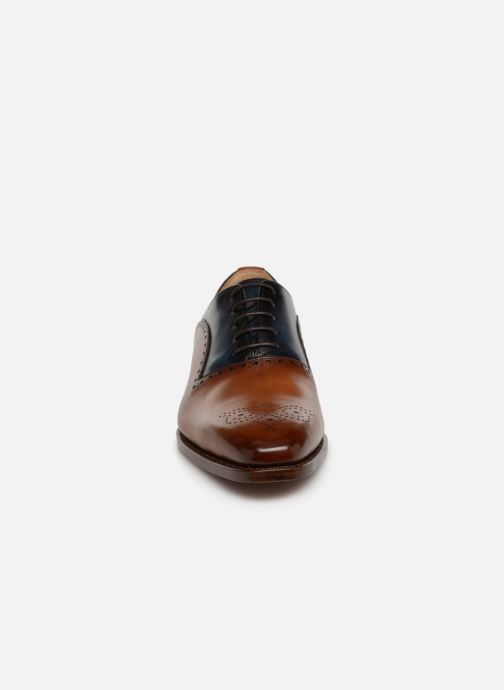 Lace-up shoes Marvin&Co Luxe Welner - Cousu Goodyear Multicolor model view