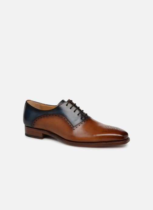 Lace-up shoes Marvin&Co Luxe Welner - Cousu Goodyear Multicolor detailed view/ Pair view