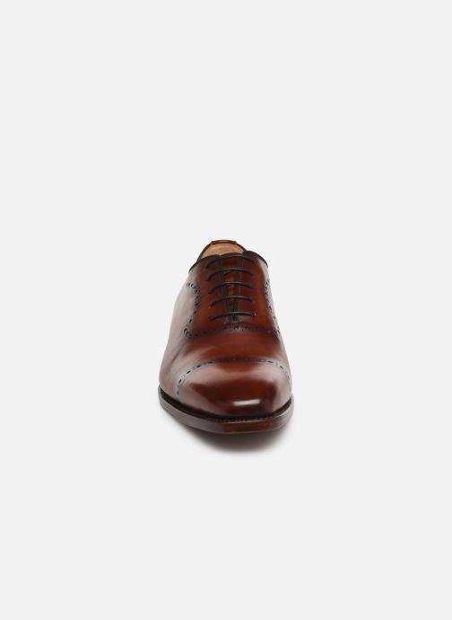 Zapatos con cordones Marvin&Co Luxe Wilnow - Cousu Goodyear Marrón vista del modelo