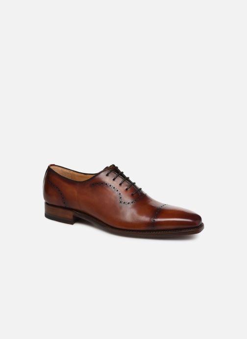 Zapatos con cordones Marvin&Co Luxe Wilnow - Cousu Goodyear Marrón vista de detalle / par