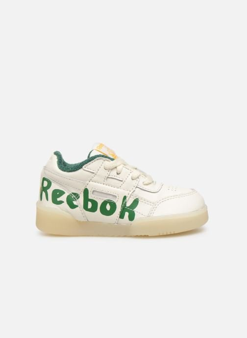 Baskets Reebok x TAO Reebok Classic x The Animals Observatory Workout Plus Baby Blanc vue derrière