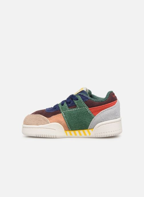 Baskets Reebok x TAO Reebok Classic x The Animals Observatory Workout Plus Baby Multicolore vue face