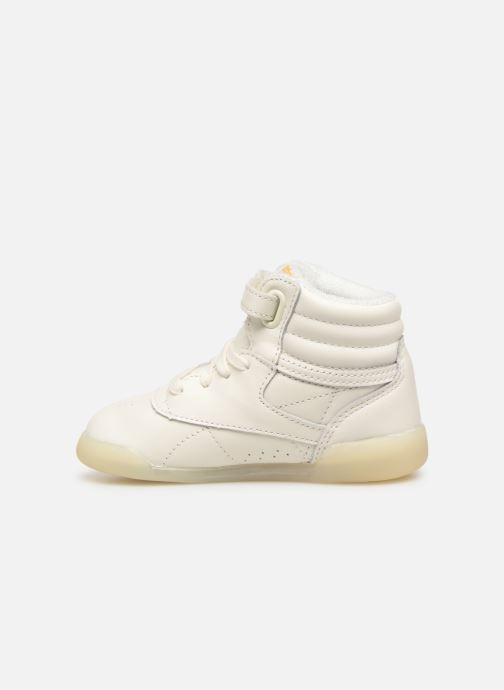Sneaker Reebok x TAO Reebok Classic x The Animals Observatory Hi Freestyle Baby weiß ansicht von vorne