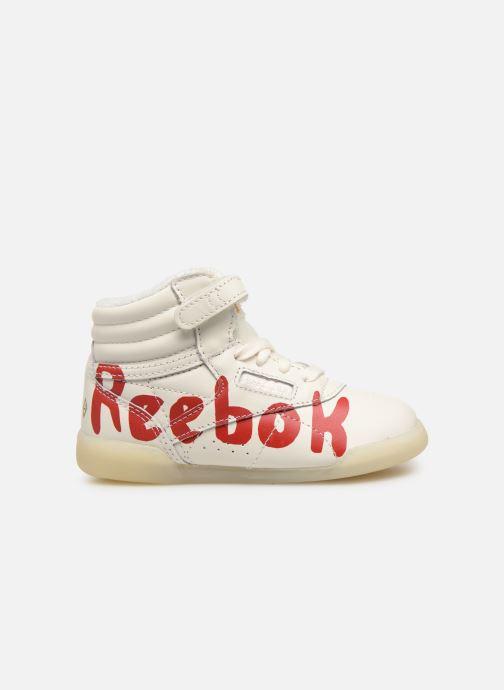 Sneaker Reebok x TAO Reebok Classic x The Animals Observatory Hi Freestyle Baby weiß ansicht von hinten