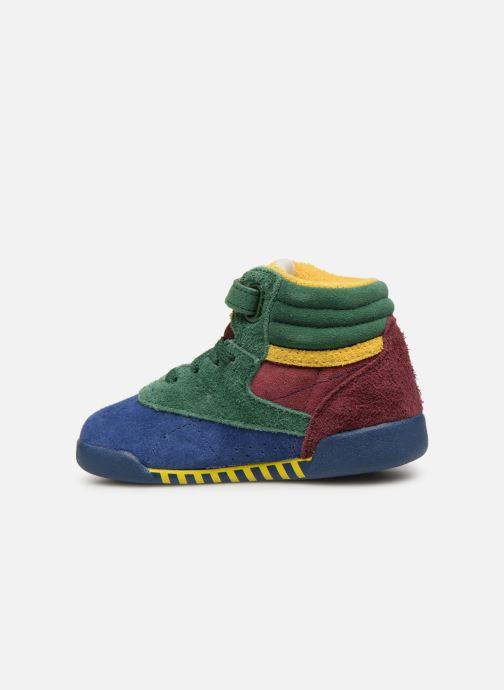 Sneaker Reebok x TAO Reebok Classic x The Animals Observatory Hi Freestyle Baby mehrfarbig ansicht von vorne