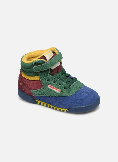 Baskets Reebok x TAO Reebok Classic x The Animals Observatory Hi Freestyle Baby Multicolore vue détail/paire
