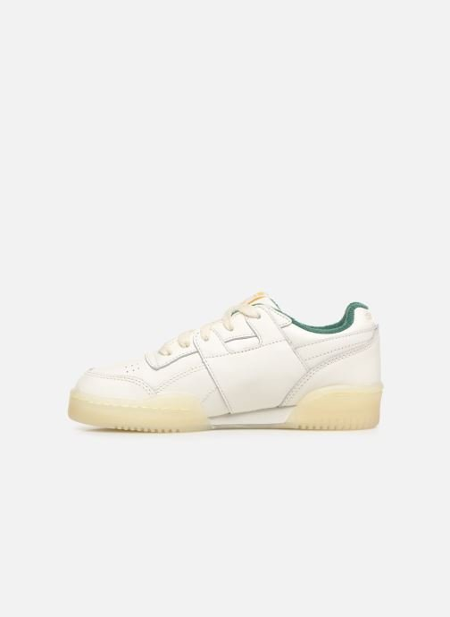 Trainers Reebok x TAO Reebok Classic x The Animals Observatory Workout Plus Kid White front view