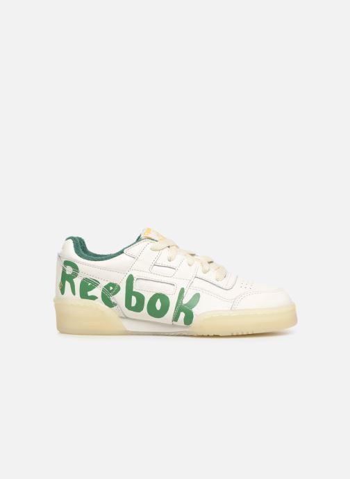 Sneaker Reebok x TAO Reebok Classic x The Animals Observatory Workout Plus Kid weiß ansicht von hinten