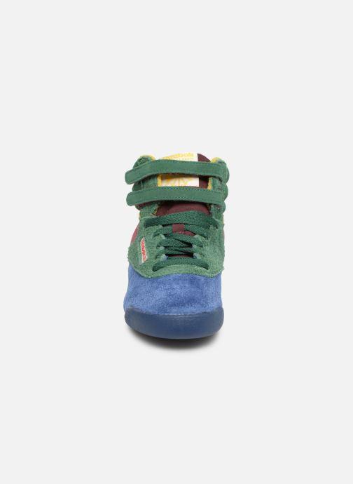 Sneaker Reebok x TAO Reebok Classic x The Animals Observatory Freestyle Hi Kid mehrfarbig schuhe getragen