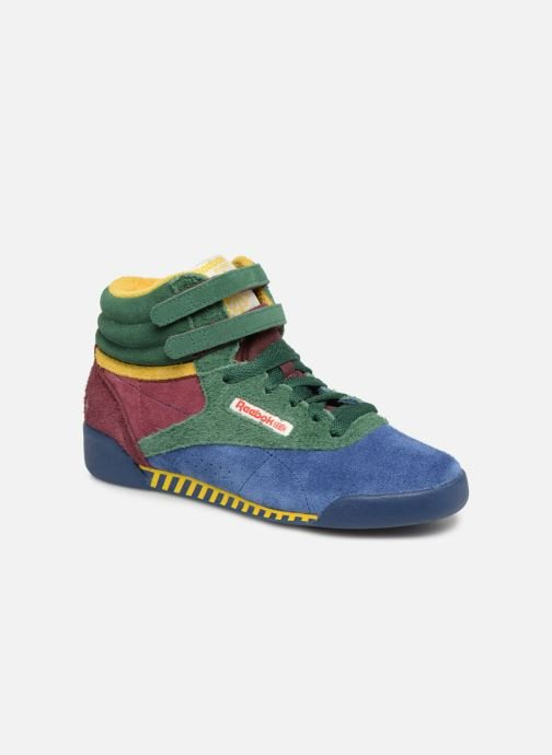 Sneakers Reebok x TAO Reebok Classic x The Animals Observatory Freestyle Hi Kid Multicolor detail