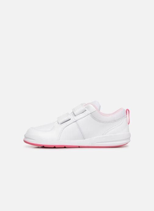 Baskets Nike Nike Pico 4 (Psv) Blanc vue face