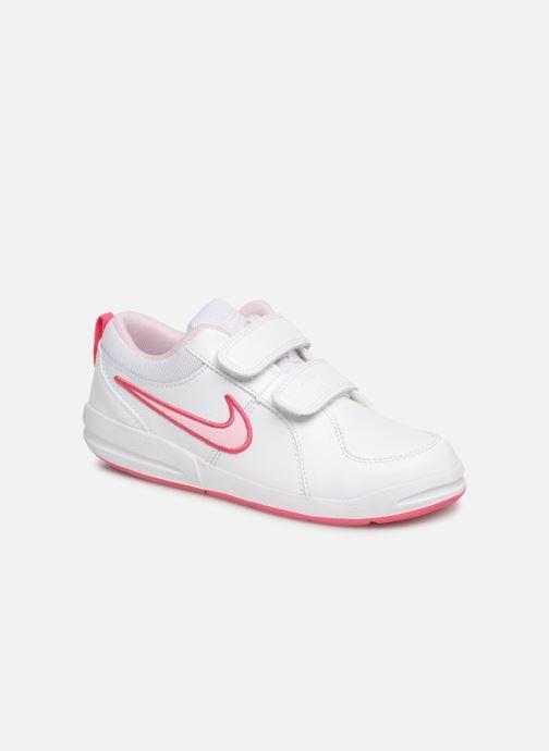 Baskets Nike Nike Pico 4 (Psv) Blanc vue détail/paire