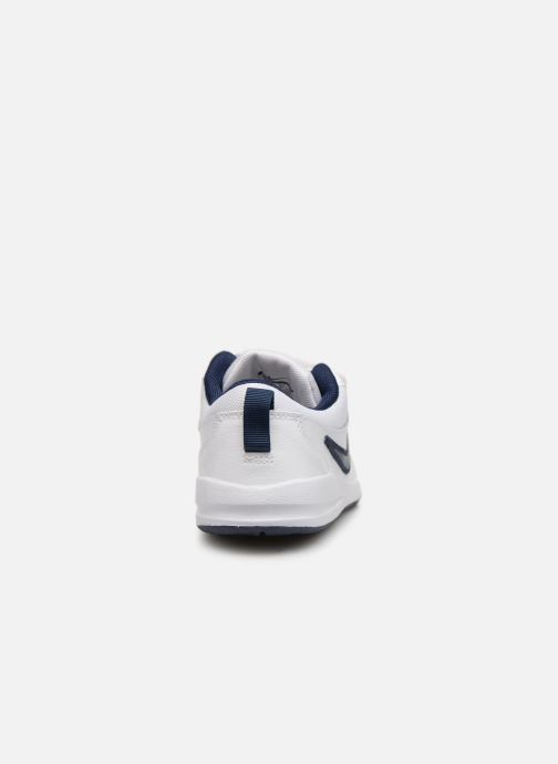 Deportivas Nike Nike Pico 4 (Psv) Blanco vista lateral derecha