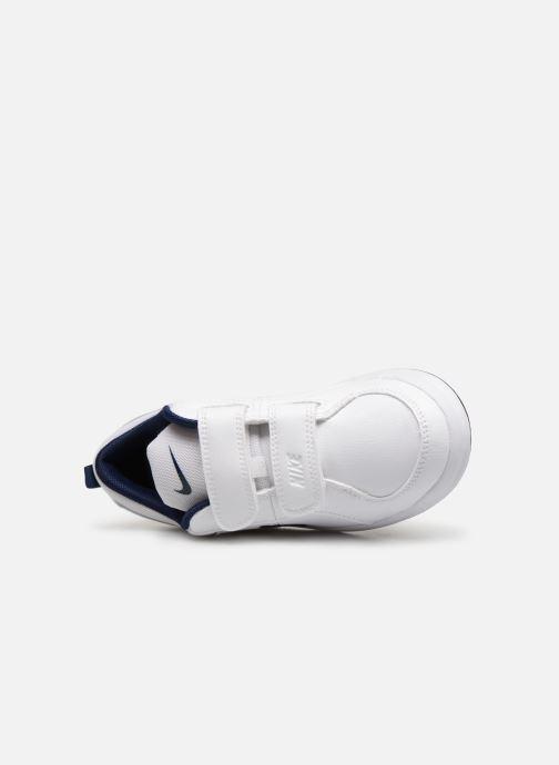 Deportivas Nike Nike Pico 4 (Psv) Blanco vista lateral izquierda