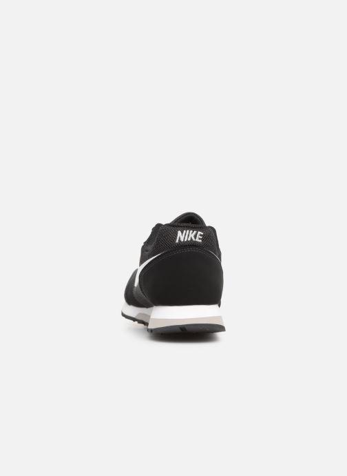 Deportivas Nike Nike Md Runner 2 (Gs) Negro vista lateral derecha