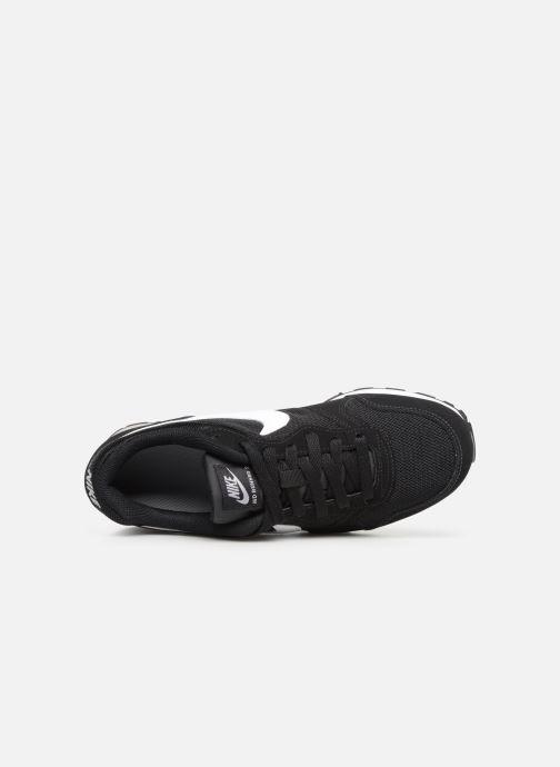 Sneaker Nike Nike Md Runner 2 (Gs) schwarz ansicht von links