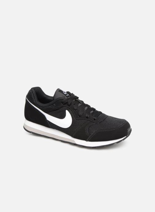 Deportivas Nike Nike Md Runner 2 (Gs) Negro vista de detalle / par