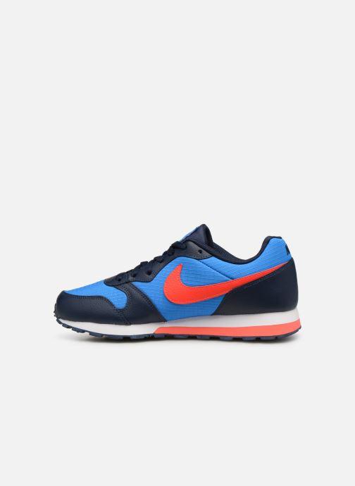 Deportivas Nike Nike Md Runner 2 (Gs) Azul vista de frente