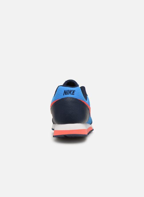 Baskets Nike Nike Md Runner 2 (Gs) Bleu vue droite