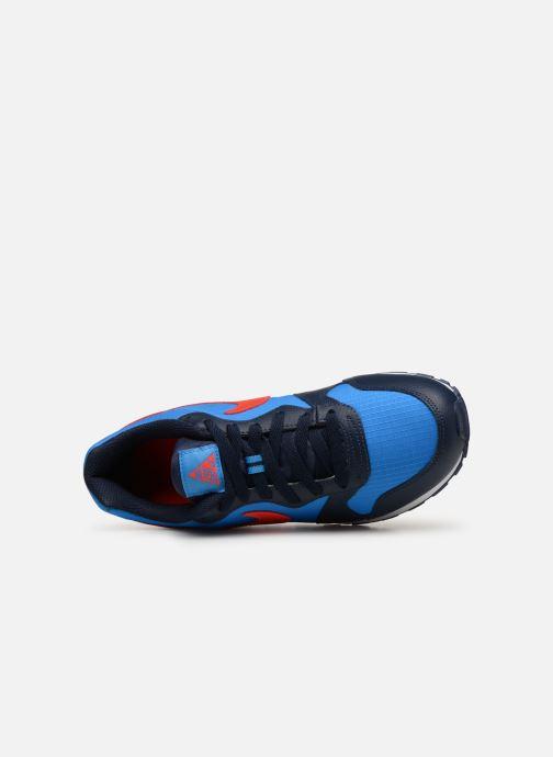 brand new 0d65c 8cb09 Baskets Nike Nike Md Runner 2 (Gs) Bleu vue gauche
