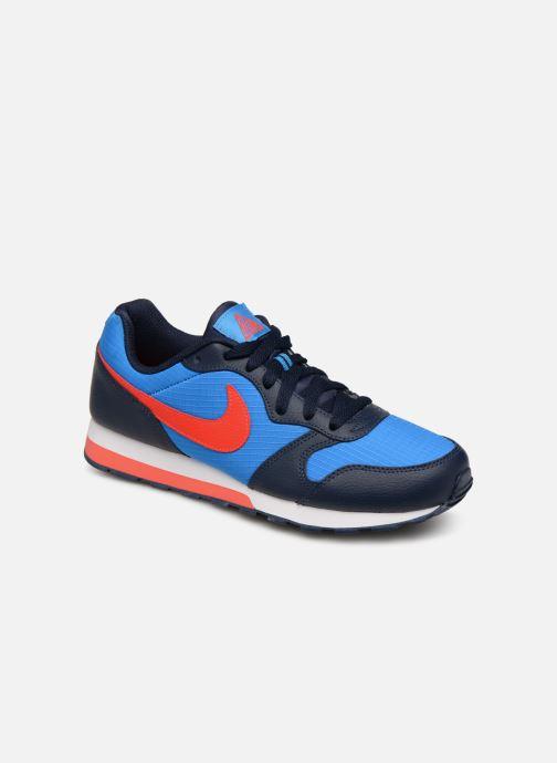 Sneakers Nike Nike Md Runner 2 (Gs) Blå detaljerad bild på paret