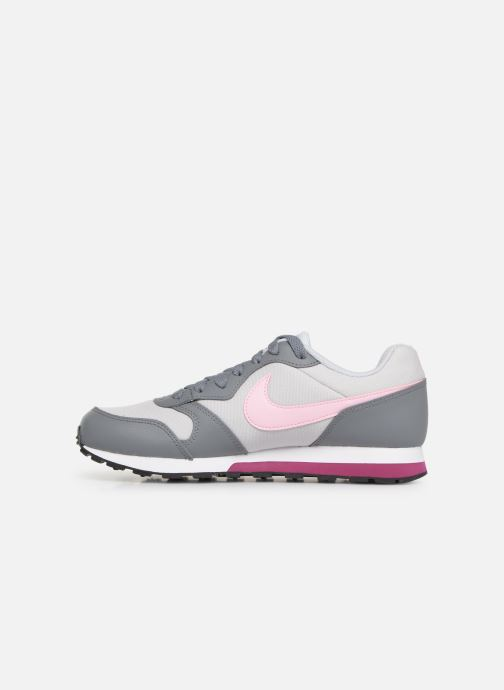 Deportivas Nike Nike Md Runner 2 (Gs) Gris vista de frente
