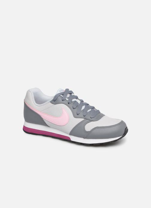 Deportivas Nike Nike Md Runner 2 (Gs) Gris vista de detalle / par