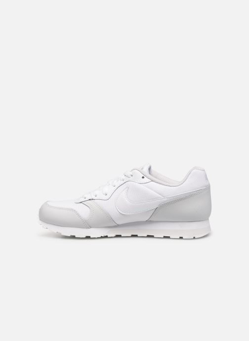 Sneakers Nike Nike Md Runner 2 (Gs) Wit voorkant