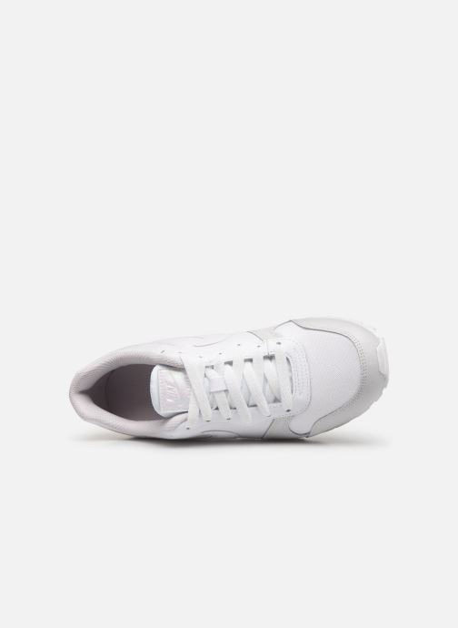 Trainers Nike Nike Md Runner 2 (Gs) White view from the left