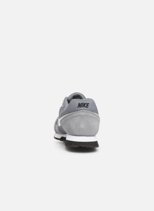 Deportivas Nike Nike Md Runner 2 (Gs) Gris vista lateral derecha