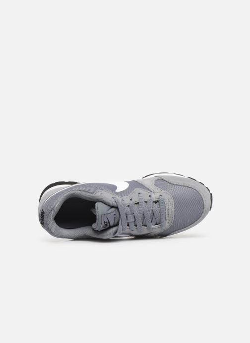 Deportivas Nike Nike Md Runner 2 (Gs) Gris vista lateral izquierda